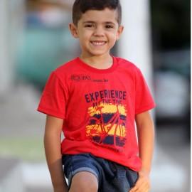 Camisa Infantil Algodão Com Estampas