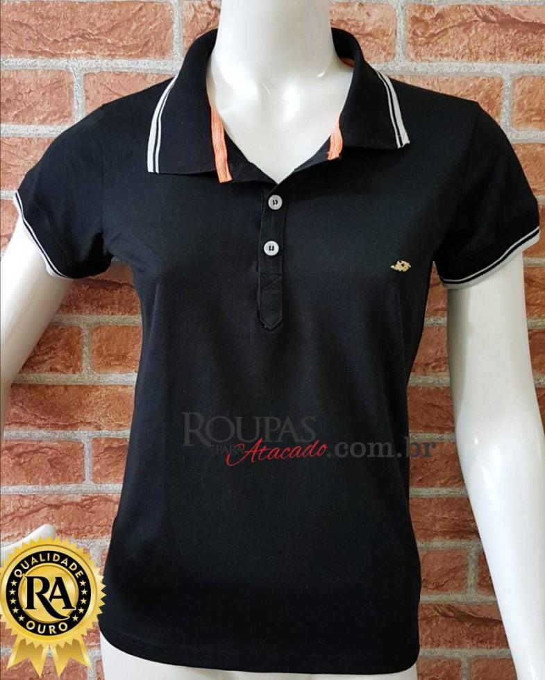 8a23a5220a blusa gola polo feminina