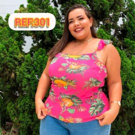 Blusa Feminina Plus Size Ana
