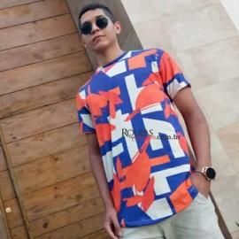 Camisa Masculina Estampada Floral