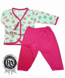 Pijama para Bebe Estampado Feminino