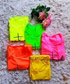 Vestido Curto Neon Atacado