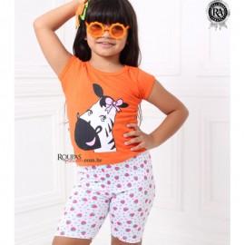 Conjunto Infantil Blusa e Legging
