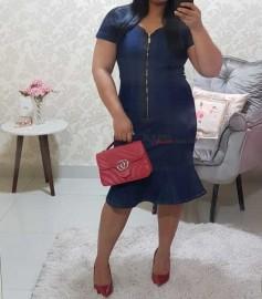 Vestido Jeans Evangelico