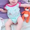 Body Bebê Estampado Menina