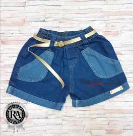 Short Jeans Infantil Feminino Varios Modelos