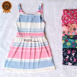 Vestido Infantil Vários Modelos Em Malha