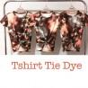 Blusa com estampas Tie Dye