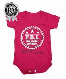Body para Bebê Feminino Personagens
