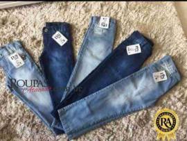 Calça Jeans Infantil Masculina 1 a 8 anos
