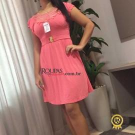 Vestido Feminino Evangelico Liso