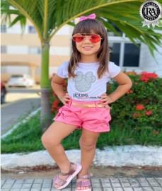Conjunto infantil feminino Vários modelos