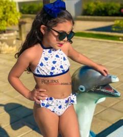 Biquíni Infantil Feminino Vários Modelos