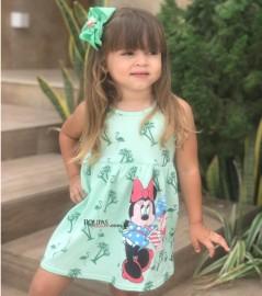 Vestidos Algodão Infantil Vários Modelos