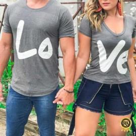 Kit Camiseta Casal Engraçada