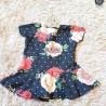 Blusa Peplum Infantil Estampada