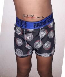 Cueca Boxer Infantil Microfibra