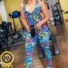 Macacão Fitness Com Bojo Longo