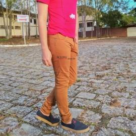Calça Sarja Colorida Masculina Adulta
