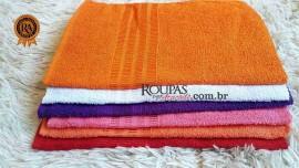 Toalha de Banho Adulta colorida