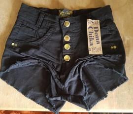 Short Brim Cintura Alta Colorido