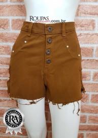 Short Cintura Alta Colorido