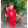 Conjunto Infantil Moletinho Blusa E Calça