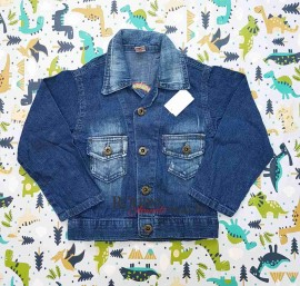 Jaqueta Jeans Infantil Masculina