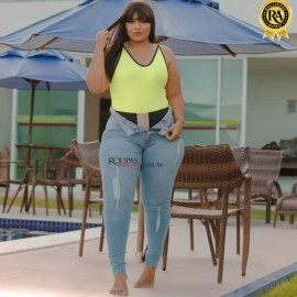 Calça Jeans Lipo Plus Size