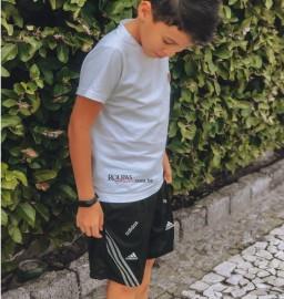 Short Jogador Juvenil Com Bolso