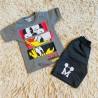 Conjunto Infantil Camiseta E Bermuda Moletom