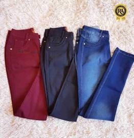 Calça Jeans Feminina Colorida