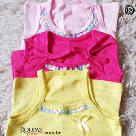 Blusa infantil Feminina Lisa