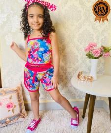 Conjunto Short E Blusa Infantil