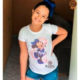 Blusa Tshirt Infantil Com Estampas
