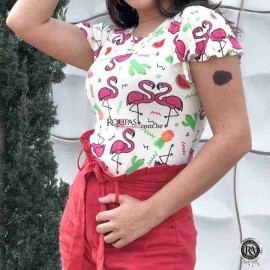 Blusa Modinha Feminina Vários Modelos