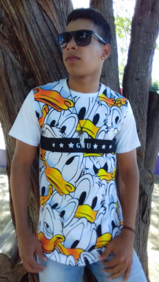 12ce4b3e5 Camisa Oversized Longline Masculina Adulta - Roupas Para Atacado