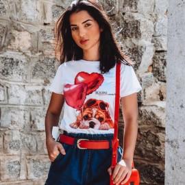 Blusa Feminina T-Shirt Com estampas