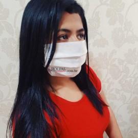 Mascara TNT Tecido Duplo