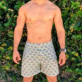 Short Pijama Masculino Estampado