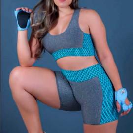 Conjunto Fitness Feminino Liso