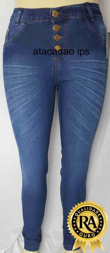 2d748fbbd Calça Jeans Plus Size Cintura alta atacado | Direto da Fabrica