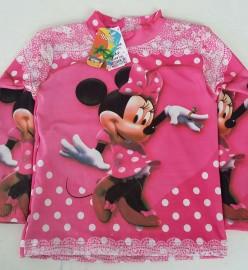 Blusa Proteção UV Infantil Feminina