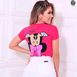 Blusa Tshirt Feminina Personagens