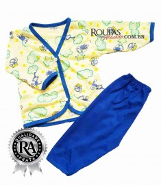 Pijama para Bebe Estampado Masculino