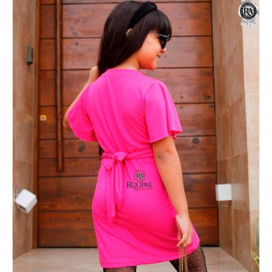 Vestido Infantil Blogueirinha Nicole