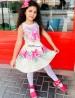 Vestido Infantil Neoprene Isabella