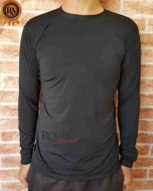 Camiseta Manga Longa Masculina Com Proteção UV