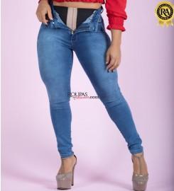 Calça Jeans Feminina Lipo Slim