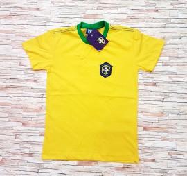Camisa Infantil Brasil Algodão Masculina